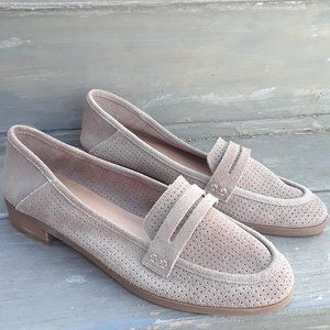 NEW Lucky Brand Womens Caylon  Tan Loafers